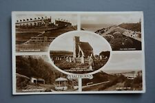 R&L Postcard: Saltburn Multiview, Chalets & Cliffs, Bandstand, Upleatham Church
