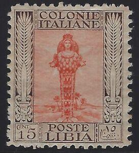 Libya - 1921 - Scott # 52a - perf 11 x 11 - Mint OG Hinged