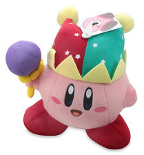 "Official Jester / Mirror Kirby 7"" Plush Stuffed Doll - Nintendo USA Little Buddy"
