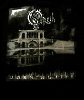 OPETH cd cvr MORNINGRISE Official Black SHIRT Size XL new