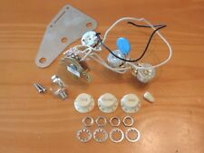 Fender USA White Eric Johnson Stratocaster Electronic Control Pots Harness
