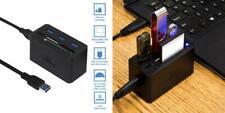 Kingwin KWCR-801U3 USB 3.0 Hub All-in-1 High Speed MS/Micro SD/M2/CF black
