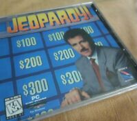 JEOPARDY! PC CD ROM GAME - 386 SX or Greater - Win 95 - New in Box Alex Trebek