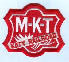 "RAILROAD PATCH  - The Missouri–Kansas–Texas Railroad  MKT Katy 4"" X 3 1/4"""