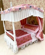 Dolls House Four Poster Bed