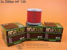 Filtro de Aceite Motocicleta HIFLO HF 139 SUZUKI 3 piezas