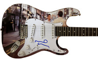 NOEL GALLAGHER OASIS SIGNED FULL SIZE CUSTOM ELECTRIC GUITAR AUTOGRAPH BECKETT