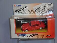 CORGI TOYS MODEL  No.01801 JAGUAR MK11  'BUSTER' GREAT TRAIN ROBBERY FILM  MIB
