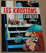 KOSTONS -4- / L'heritier / EO 1984 / TBE-