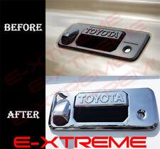 For 2016 17 2018 Toyota Tacoma CrewCab Chrome Tailgate Handle Cover W/Camera log