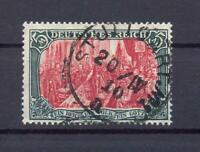 DR 97 AIa Germania 5 Mark gestempelt geprüft (rs146)