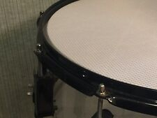 Prism Practice Mesh Acoustic Silent Drum Head 3Ply White Comparable Pearl MFH BL