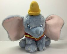 Disney Store Plush Dumbo The Elephant Stuffed Animal Super Soft 15 In.