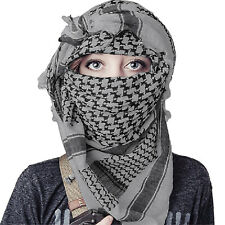 Military Army Desert Tactical Arab Shemagh KeffIyeh Shawl Sun Protection Scarves