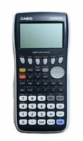 Casio FX-9750GII Graphing Calculator, Icon Based Menu 26KB Ram, White/Blue
