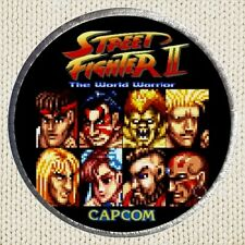 Street Fighter 2 Patch Picture Embroidered Border Videogame The World Warrior