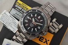Rare Seiko Samurai SBDA001 Titanium Dive Watch 7s25-00D0 Full Kit Original 2007