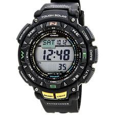 Reloj para Hombres Casio Pro Trek Triple Sensor Pathfinder Energía Solar Alarma PAG240-1