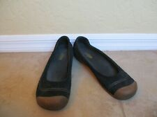 Keen Womens Shoes Sienna Ballerina Ballet Flats Slip On Black Size 10.5 Eur 41