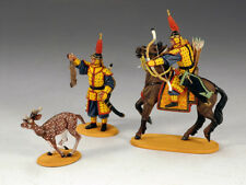 KING AND COUNTRY The Hunting Set PAINTED DIECAST METAL  IC035 IC35