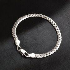 Cadenas para hombre de plata esterlina 925 Brazalete Pulsera Regalo De Navidad + regalo Gratis Bolsa