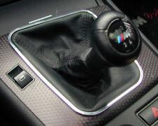 "(Di) Schaltrahmen ""dezent"" chrom Aluminium BMW E46"