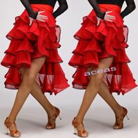 Women's Latin Cloak Skirts Rumba Samba Cha Cha Dance Performance Ballroom Dress