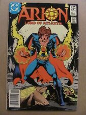 Arion Lord of Atlantis #1 Dc 1982 Canadian Newsstand $0.75 Price Variant 9.2 Nm-