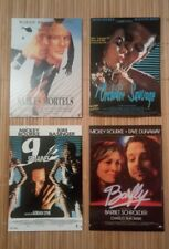4 carte postale Mickey Rourke l'Orchidée sauvage Sables Mortels Barfly 9 semaine