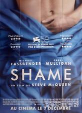 SHAME - FASSBENDER / MULLIGAN / SEX ADDICT - ORIGINAL LARGE FRENCH MOVIE POSTER