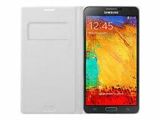 Genuine Samsung Wallet Flip Cover Case for Samsung Galaxy Note 3 N9005 Ef-wn900b White