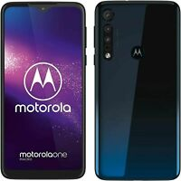 BRAND NEW Motorola One Macro Space Blue 64GB LTE DualSim Unlocked Android 4G LTE