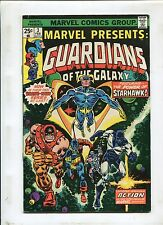 Marvel Presents #3 ~ Guardians Of The Galaxy! StarHawk ~ 1975 (Grade 6.0)WH