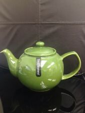 Price & Kensington Brights Green 6 Cup Teapot Olive