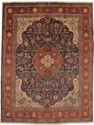 One of a Kind Hand Knotted Signed 10X13 Vintage Area Rug Oriental Decor Carpet
