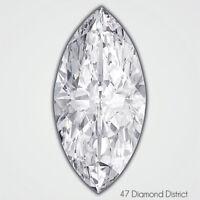 1.14ct. G-SI2 V.Good Cut Marquise Shape AGI Certified Diamond 9.32x5.24x3.61mm
