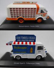 Camions de livraison miniatures 1:43