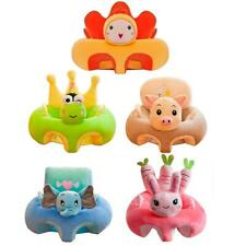 Creative Cartoon Baby Sofa Cover Learning to Sit Seat Feeding Chair Case LY