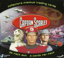 CAPTAIN SCARLET - Collector Cards Factory Sealed Box (Cards Inc.) #NEW