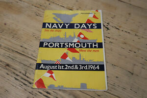 Navy Days - Portsmouth - August 1st, 2nd & 3rd 1964