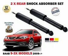 FOR SAAB 9-3X 1.9 2.0 TURBO 2009-> 2x REAR LEFT + RIGHT SIDE SHOCK ABSORBER SET