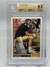 1991 Upper Deck Brett Favre #13 Rookie! BGS 9.5!