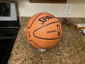 Official Spalding 2006 Cross Traxxion NBA Game Ball Leather Basketball