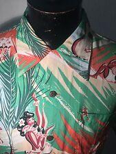 Men's Sun Surf John Severson 100%rayon Hawaiian shirt large