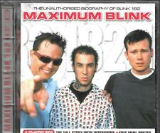 CD ALBUM 10 TITRES--BLINK 182--MAXIMUN BLINK - UNAUTHORISED BIOGRAPHY OF BLINK
