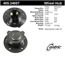 Wheel Bearing and Hub Assembly-Coupe, E92 Front Centric 405.34007