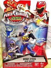 "Power Rangers Dino Super Charge 5"" Dino Steel Blue Ranger"