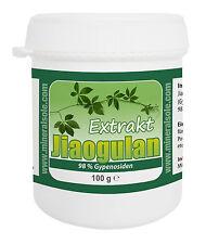 Jiaogulan Extrakt (98% Gypenosiden), 100g  - Kraut der Unsterblichkeit
