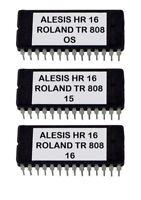 Alesis HR-16 / Hr-16B Eprom Upgrade Set OS ver 2.0 + Roland Tr808 Sounds Tr-808