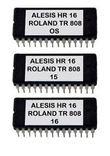 Alesis HR-16 / Hr-16B Eprom Upgrade Set OS ver 2.0 + Roland Tr808 Sounds Tr-808